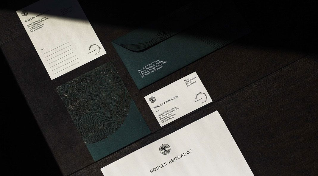 Robles Abogados branding by Chapter Studio.