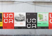 UCCA rebranding by Bruce Mau Design
