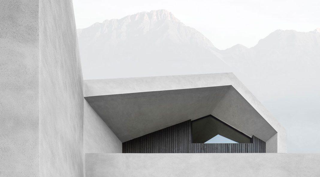 Villa B by the architects of Bergmeisterwolf.