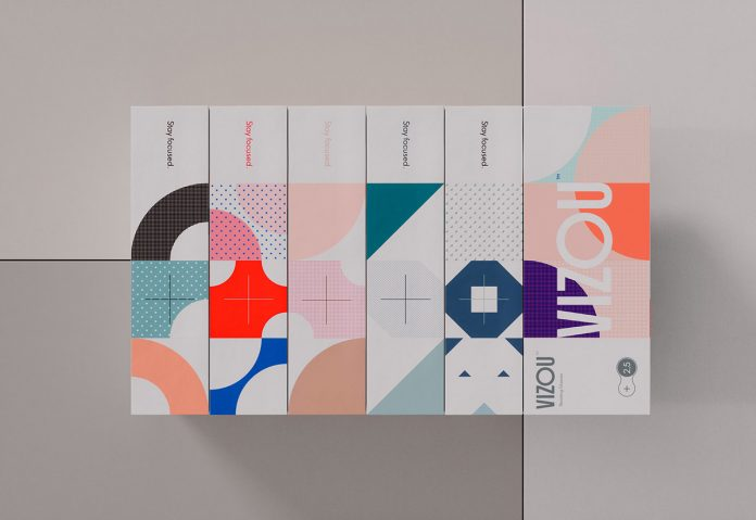 VIZOU: Graphic Design and Branding by Studio Chapeaux
