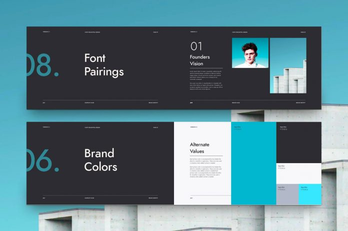 Minimalist Brand Guidelines Template