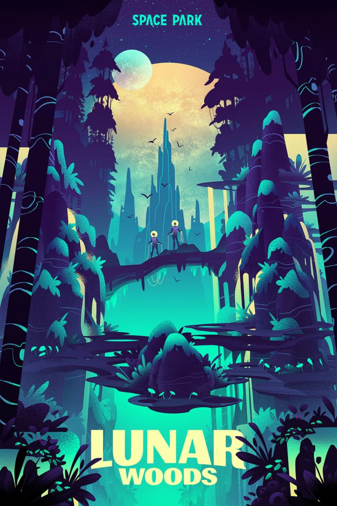 Space Park: Lunar Woods