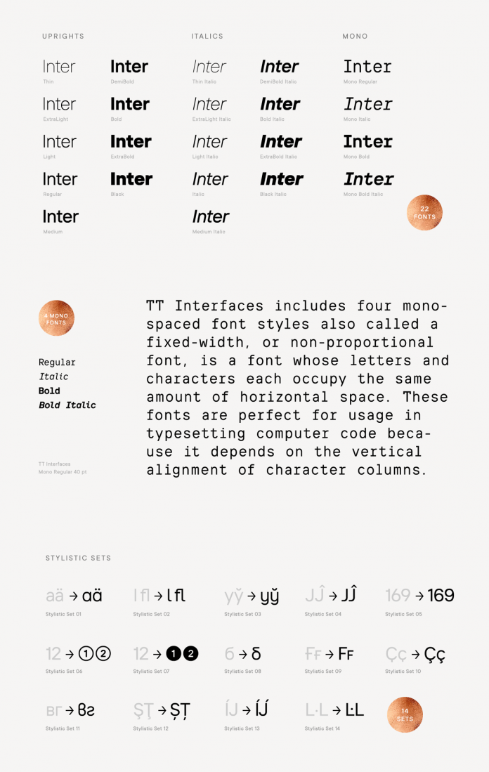 TT Interfaces font family by TypeType.