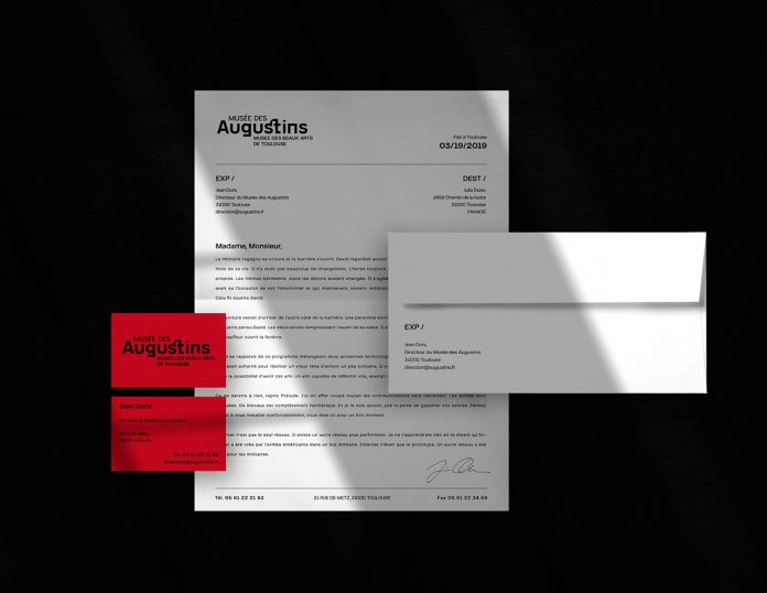 The Museum of Fine Arts of Toulouse branding by BIS Studio Graphique