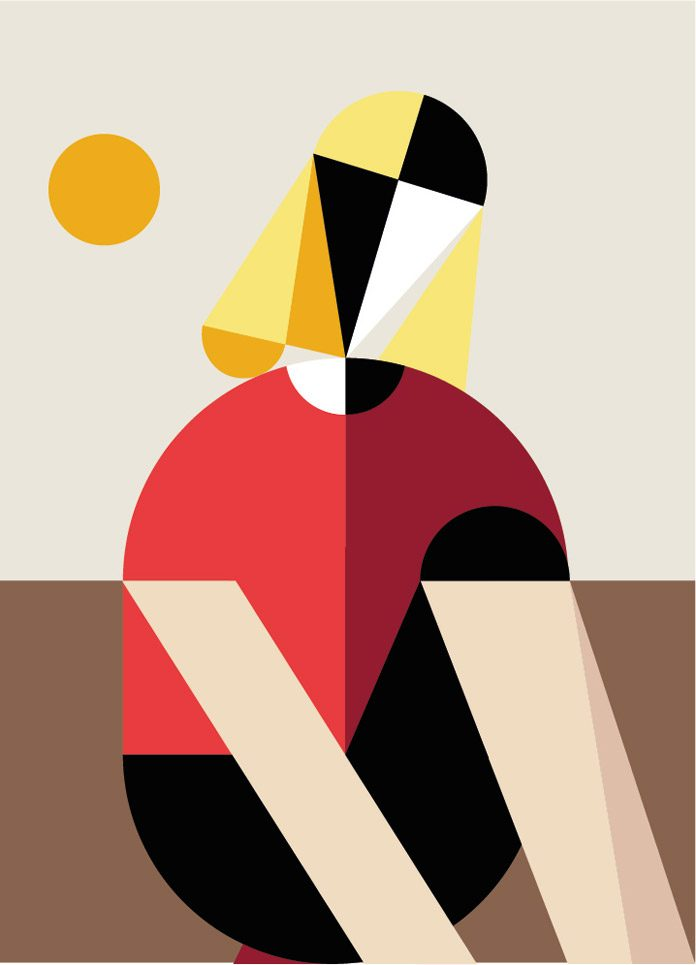Geometric illustration by creanet.