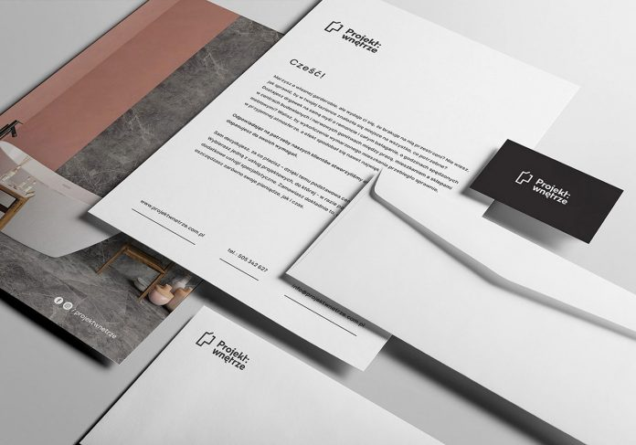 Graphic design and branding by Studio Sarna for Projekt: wnętrze.