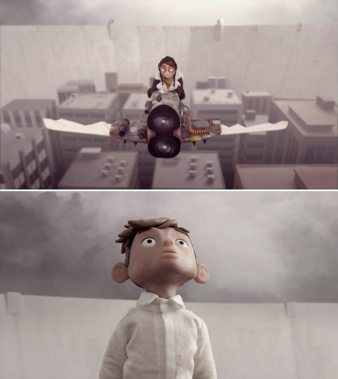 Horizon, a stop-motion short film by Amandine Senny.