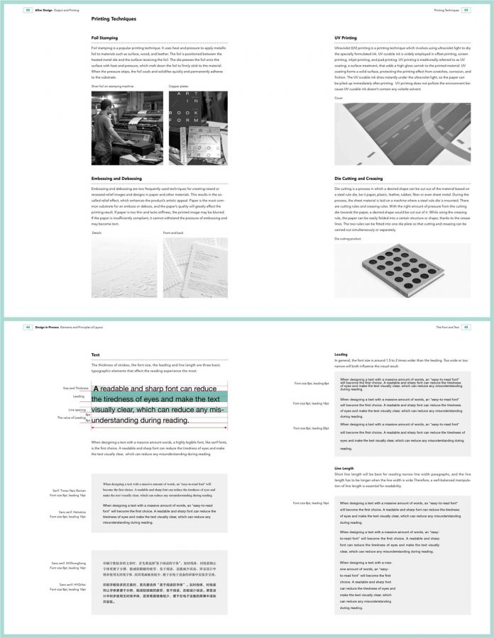 Principles for Good Layout Design, a book published by SendPoints.