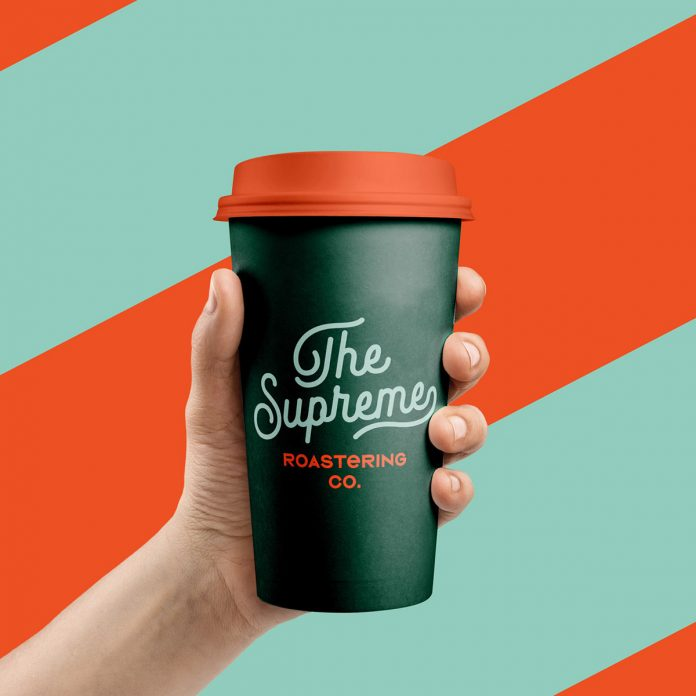 Graphic design, packaging, and branding by Marka Network for The Supreme Roastering Co.