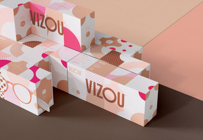 Graphic design and branding by Studio Chapeaux for the reading glasses of VIZOU.