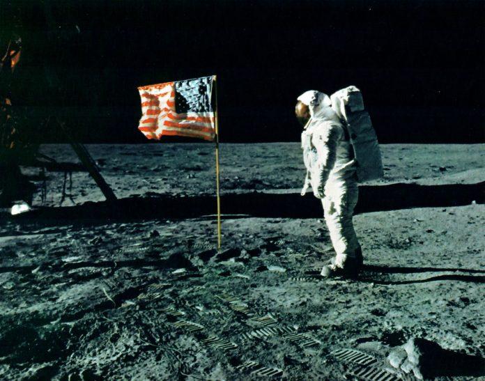 Original photo from Apollo 11.