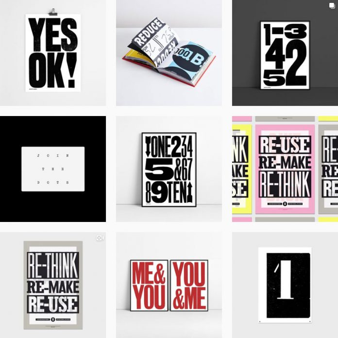 Anthony Burrill on Instagram