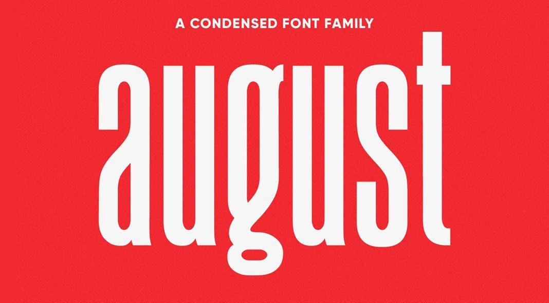 August typeface by Ellen Luff