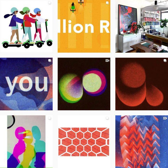 Graphic Designer Kelli Anderson on Instagram