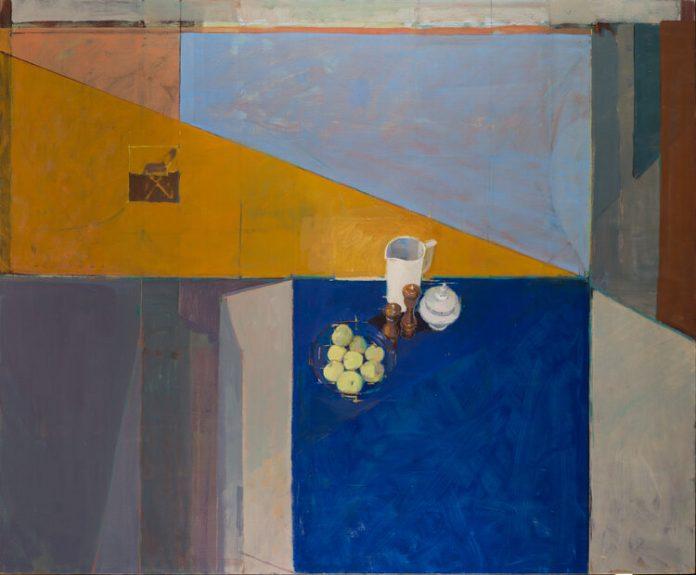 Artist Hiroshi Sato at Marrow Gallery in San Francisco, CA