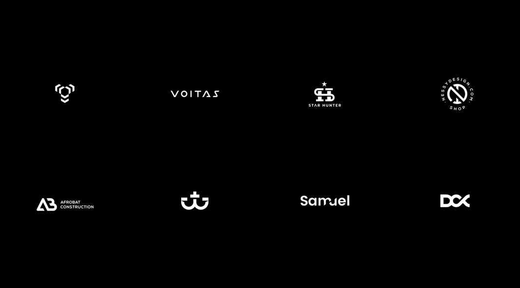 Logo collection by Polish graphic designer Łukasz Kokosiński.