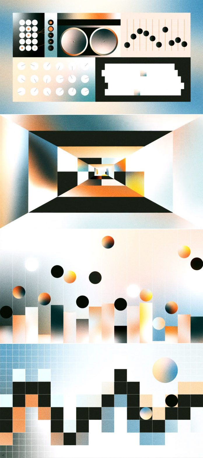 Stills from Synthesis and Sound Design by Richard Devine