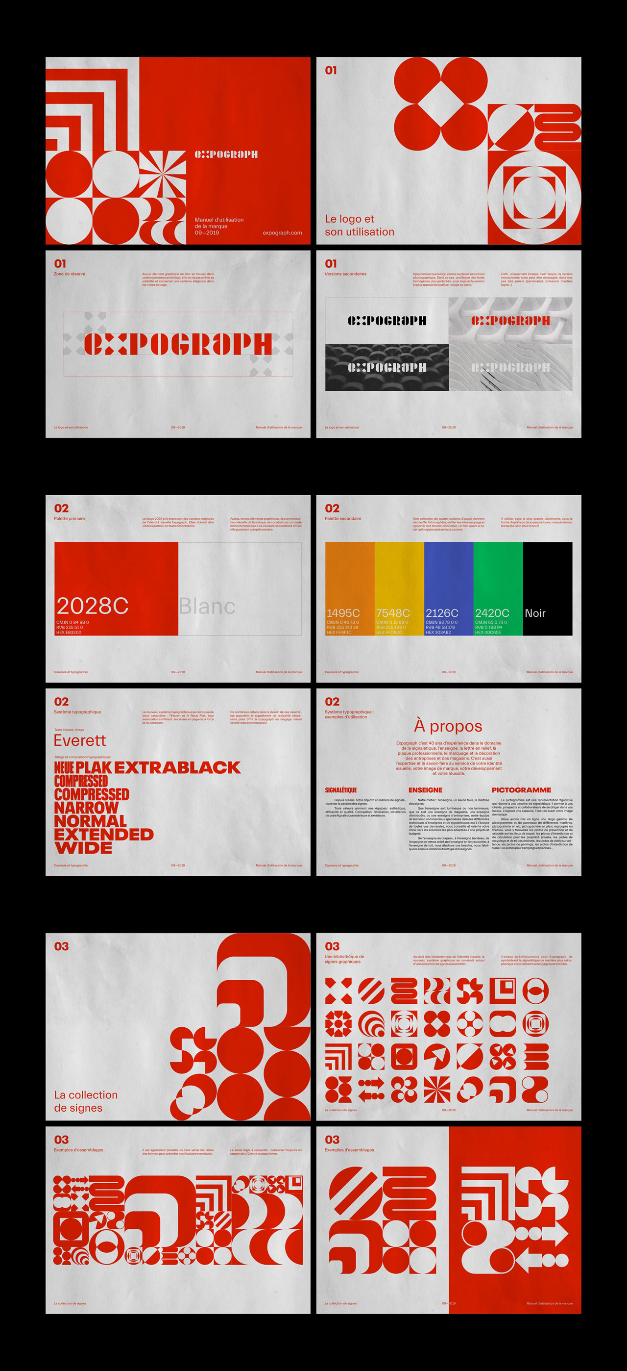 Expograph: Brand Identity & Graphic Design by Brand Brothers