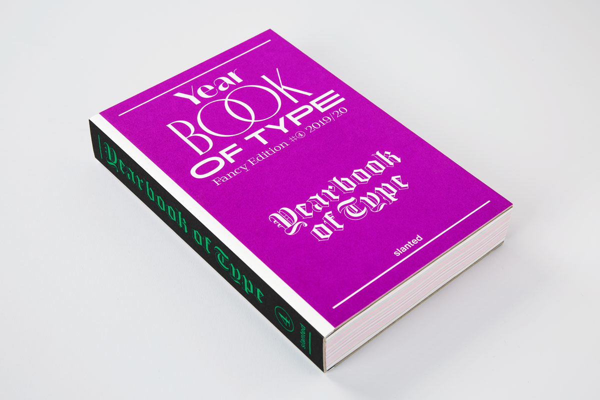 Yearbook of Type 2019/20 from Slanted Publishers