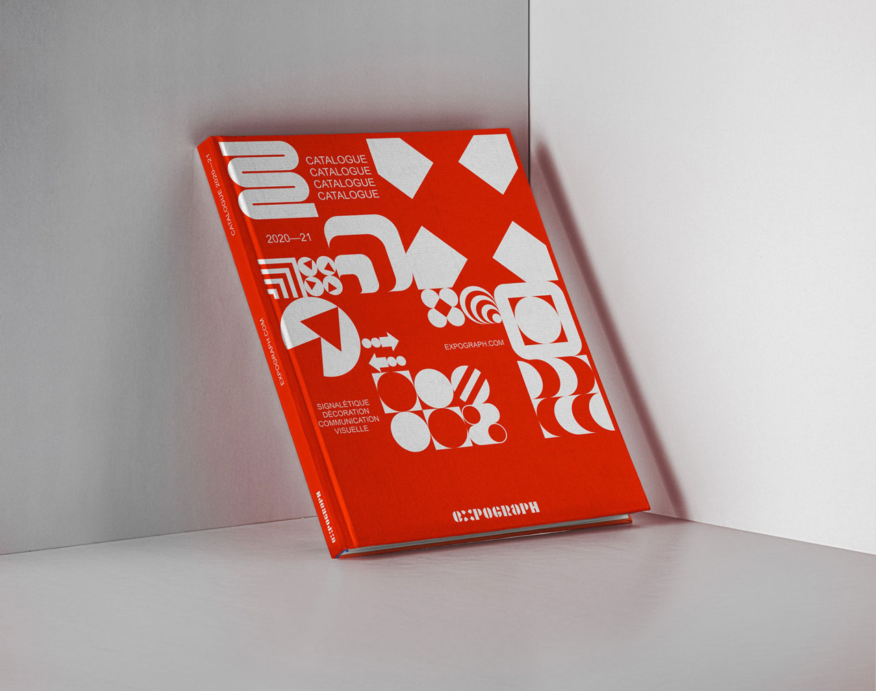 Expograph - brand identity and graphic design by Brand Brothers.