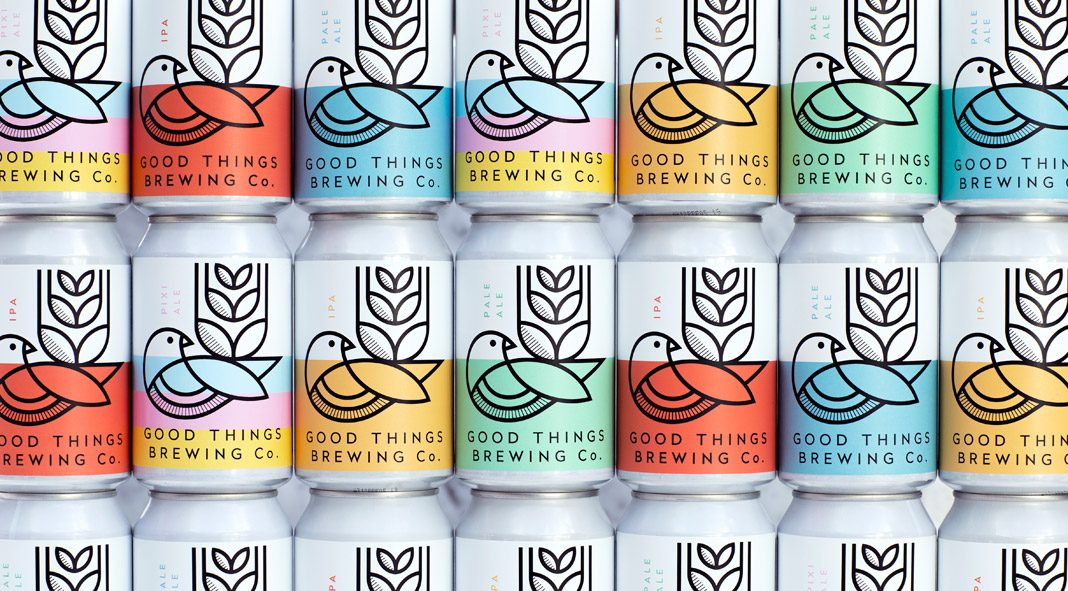 Branding and packaging by studio Horse for the world's most sustainable brewery.
