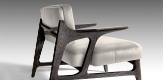 Miles armchair by interior design studio OKHA