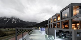 Mohr life resort: The Theatrical Spa by noa* network of architecture.