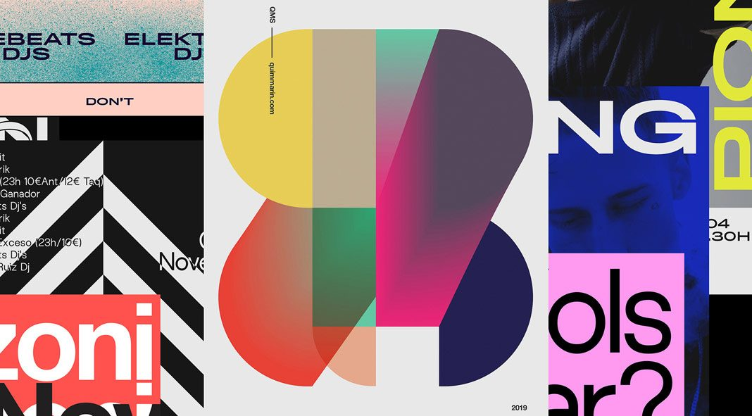 Poster collection 2019 by Quim Marin.