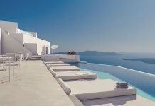 SAINT HOTEL, Oia Santorini, Greece, 2016-2019 by Kapsimalis Architects