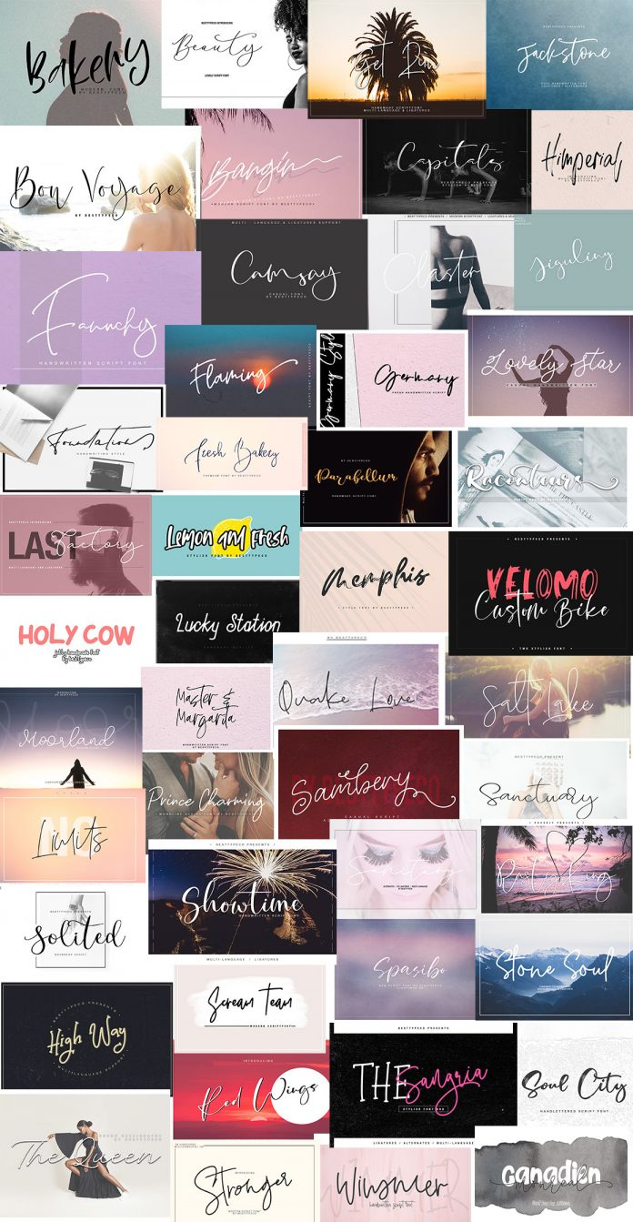 The Stylish Fonts Bundle
