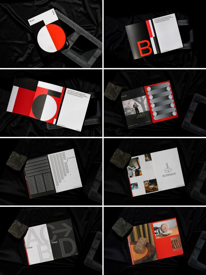 A book by Bruch Idee & Form featuring the studio's creative work from the past 5 years.