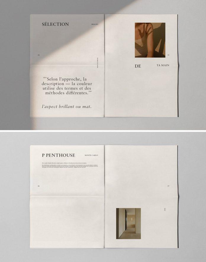 Beige De Couleur—Editorial Design and Curation by Kévin Magalhaes