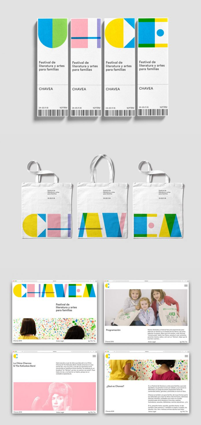 Chavea branding, graphic design, and art direction by Plácida Design Studio.
