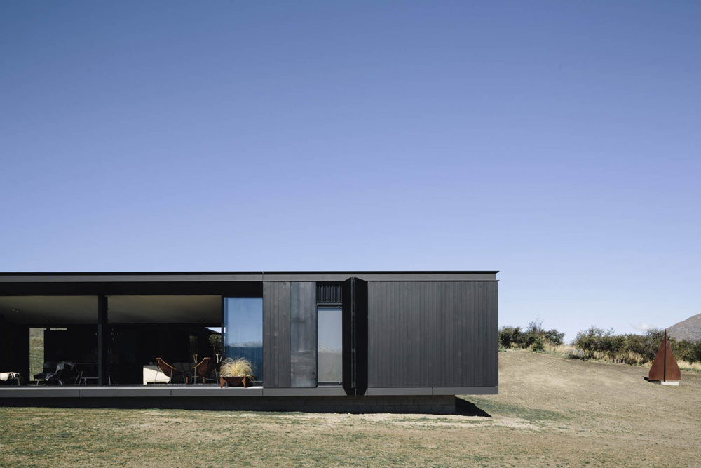 Alpine Terrace House by Fearon Hay Architects.