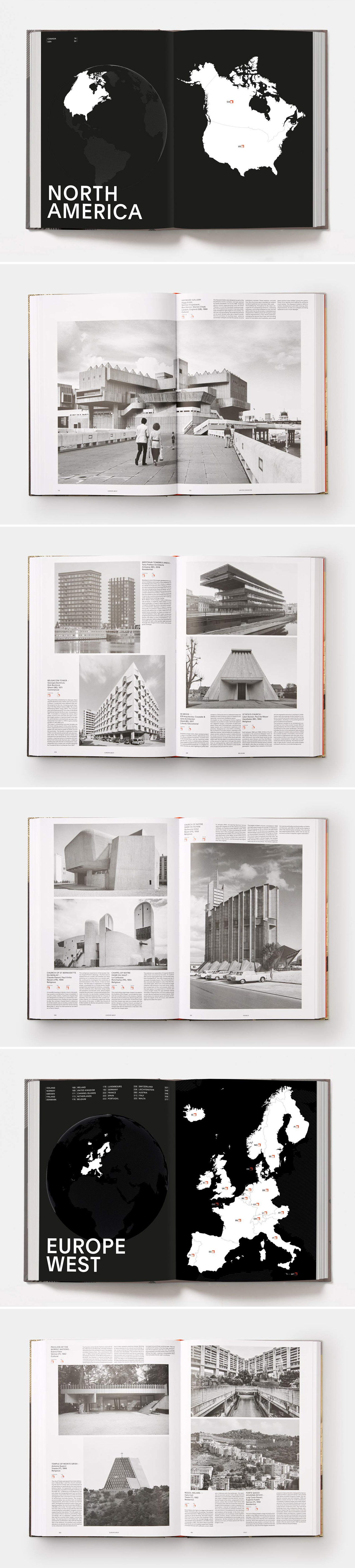 Atlas of Brutalist Architecture: New York Times Best Art Book of 2018