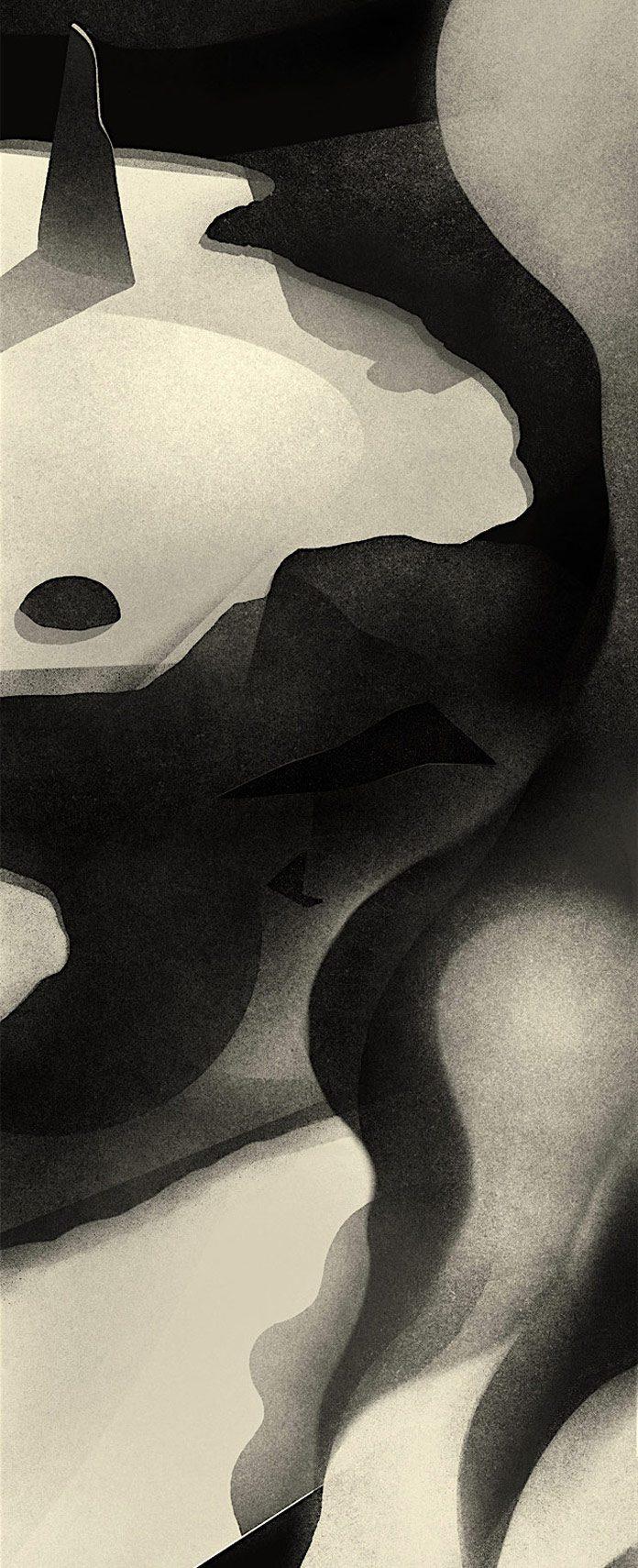 The Nightmare, an illustration by Karolis Strautniekas.