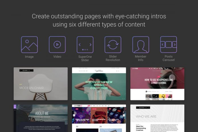 SuperOne - Multi-Purpose WordPress Theme