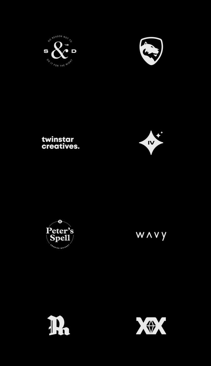 Logofolio by Sylvan Hillebrand.