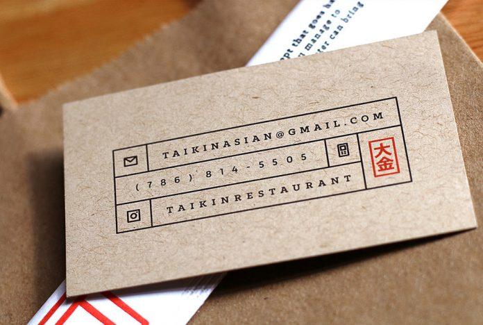 Taikin Asian Restaurant branding by Oscar Bastidas.