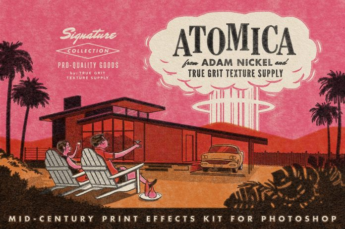 Atomica Mid-Century Print Effects