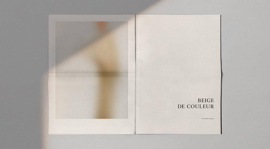 Beige De Couleur - editorial design by Kévin Magalhaes