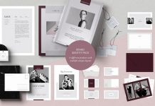 Grete branding templates bundle for Adobe InDesign.