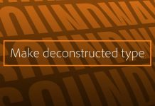 How to Make Deconstructed Type with Adobe Illustrator