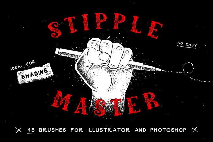 Stipple Master AI & PS Brushes