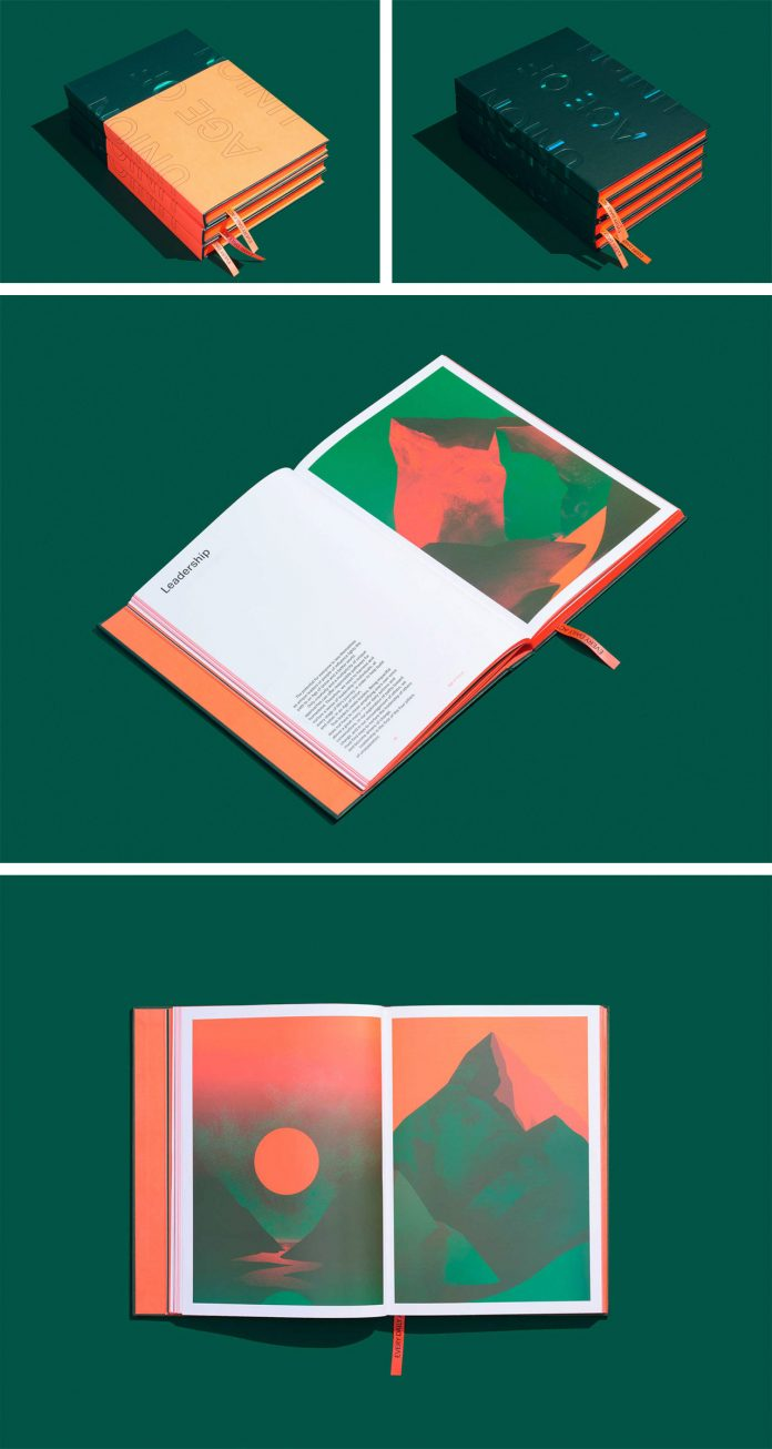 Age of Union (Art Book) — editorial and graphic design by Baillat Studio.