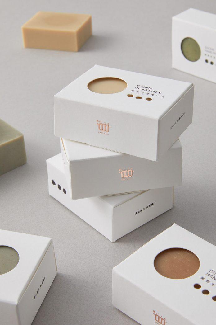 Soap Packaging Design by K9 Design.