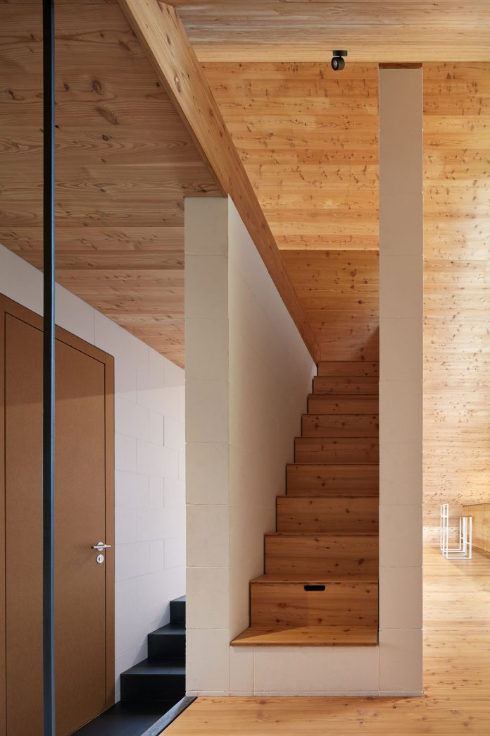Weekend House in Beskydy by Pavel Míček Architects.