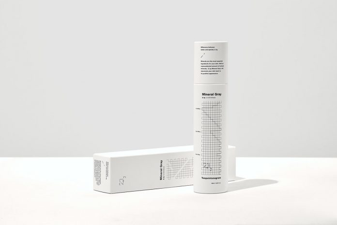 Graphic design and branding by Dooooo for a cosmetics brand named 2.1g.