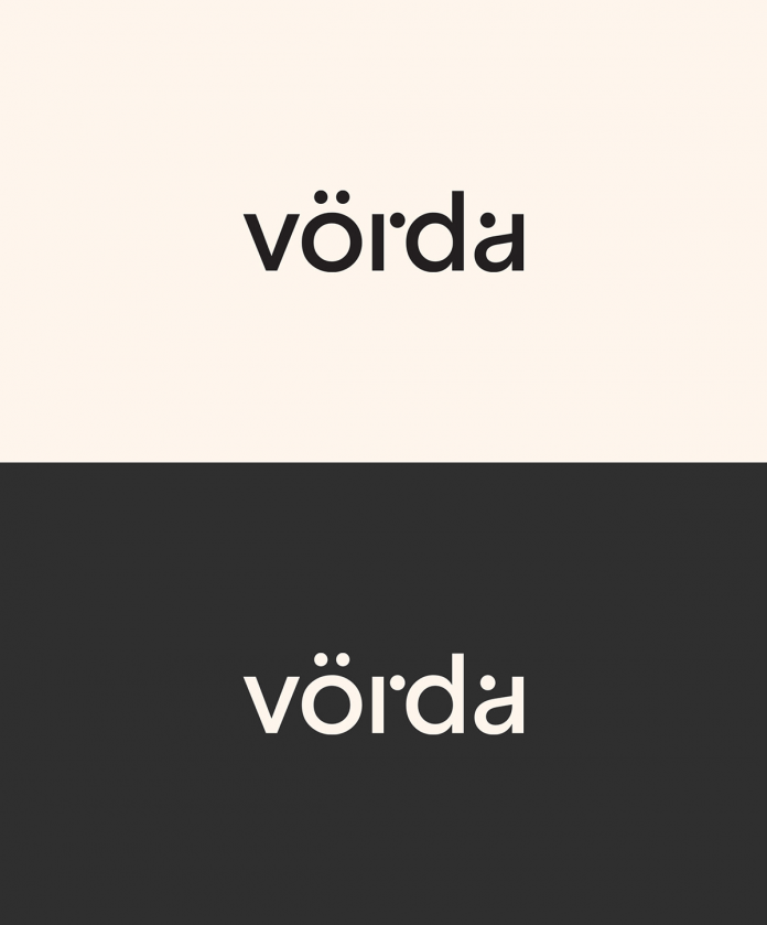 Vörda brand identity created by north™.