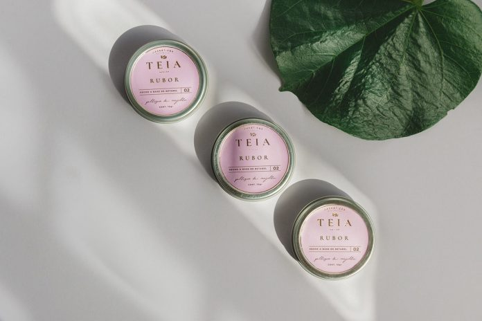 TEIA Cosmetics - brand and packaging design by Daniela Romero
